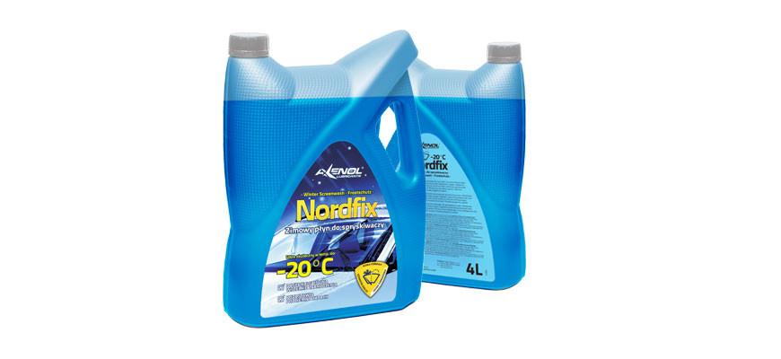 Nordfix – zimowy płyn do spryskiwaczy
